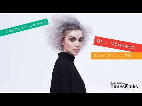 St vincent white hair