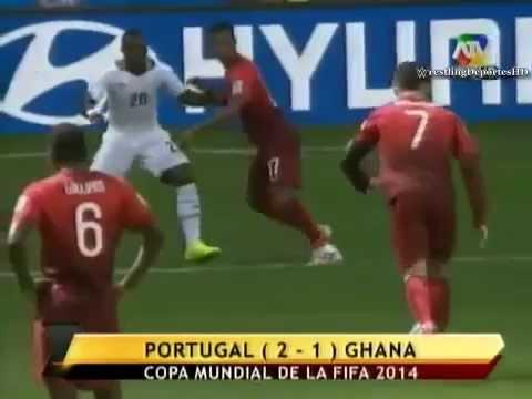 Portugal vs Ghana (2-1) | Mundial Brasil 2014 | ATV