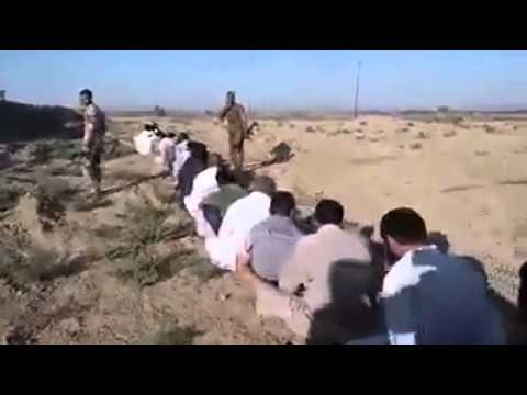 Iraq - 90 ISIS militants & their affiliates captured in Baiji by Hashd al-Shaabi