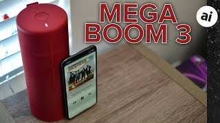 Review: Ultimate Ears MegaBoom 3 Pumps Out the Tunes with Plenty of Bass