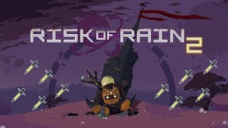 Risk of Rain 2 | What Happens When the Huntress Gets 18 Syringes?
