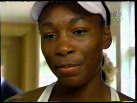 2005 Wimbledon final - Venus Williams interview with Bud Collins