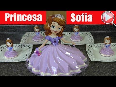 Gelatina de Princesa Sofia - Recetas en Casayfamiliatv