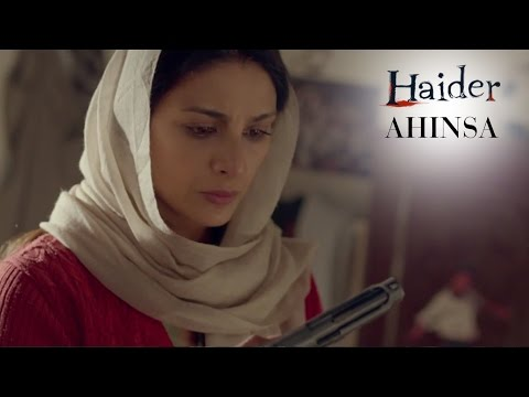 Haider | Oct. 2nd Is The Day Of Ahinsa | Shahid Kapoor & Shraddha Kapoor