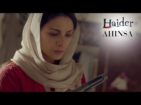 Haider | Oct. 2nd Is The Day Of Ahinsa | Shahid Kapoor & Shraddha Kapoor