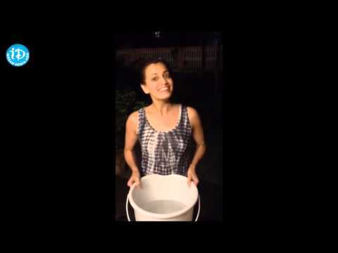 Dia Mirza ALS ICE Bucket Challenge || Bollywood Actress
