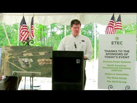 Renewable Energy Project - Groundbreaking - June 26, 2012