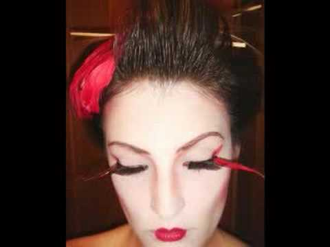 japanese geisha makeup. Designer contest the obi Geisha+makeup+pictures
