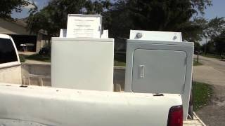 Greg Zanis Gets A Free Washer and Dryer From Craigslist