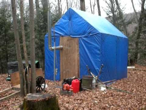 Backwoods Cabin Shanty Shack W Stove 250 Youtube