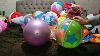 Deflating my whole collection of beach balls 2