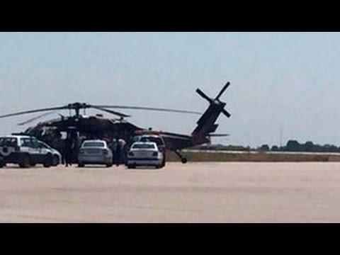 Турецкие военные прилетели в Грецию на вертолете и попросили убежище