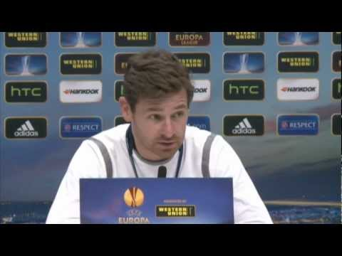 Tottenham vs Inter Milan - Andre Villas-Boas press conference