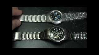 como abrir los relojes para cambiarles la pila