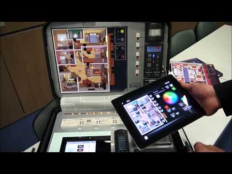 JUNG Smart Home KNX demonstration (en)