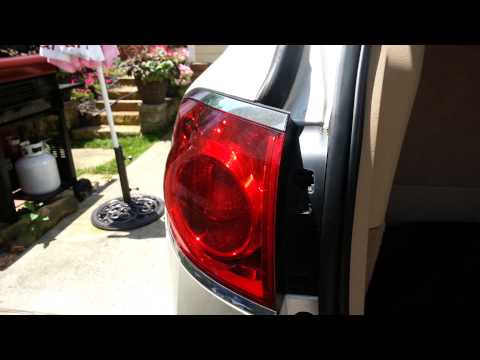 How To Install Replace Bulb Fix Broken Taillight Buick Lesabre 00-05 ...
