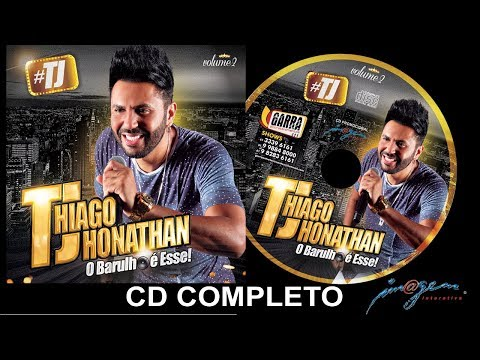 #TJ Thiago Jhonathan Vol. 2 - CD Completo