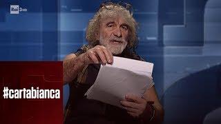 Mauro Corona commenta l'arresto di Cesare Battisti - #cartabianca 15/01/2019