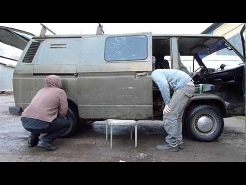 01. review / осмотр  - volkswagen transporter T3 - inthevan.ru