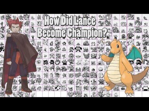Pokemon theory how did lance become the champion 08 24 mins visto