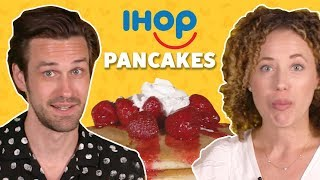 We Tried All of the Pancakes from IHOP | TASTE TEST