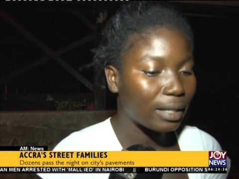 Accra's Street Families