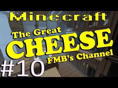 Minecraft The Great Cheese Part 10 - Into the Larder!