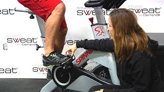 #1 Tip Spin® Instructors DON'T tell you! How to place your foot on the pedal.