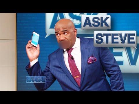 Ask Steve: She's beatin' yo ass! || STEVE HARVEY