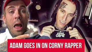 Adam22 GOES IN on Corny Rapper who paid to be on Worldstar
