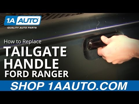 How To Install Replace Broken Tailgate Handle Ford Ranger 1993-97 1AAuto.com