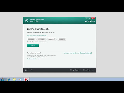 How to activate Kaspersky Internet Security 2014 after installation
