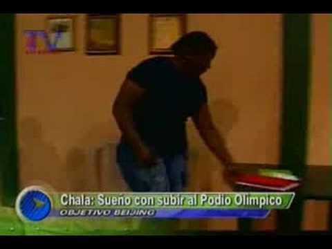 Chala, sueño con subir al Podio Olímpico