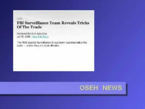 FBI Surveillance team reveal tricks of trade