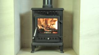 FIREFLAME Viper (5kw) wood burning & mulfifuel stove