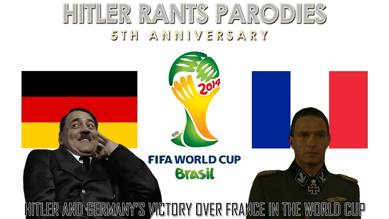 Hitler and Germany's victory over France in the World Cup