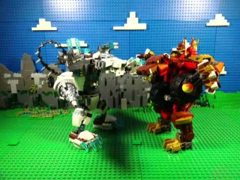 LEGO LEGENDS OF CHIMA FIRE V'S ICE - 2015 COMPILATION FULL
