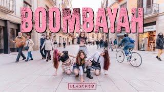cover album KPOP IN PUBLIC BLACKPINK 블랙 핑크 _ BOOMBAYAH 붐바야  Dance Cover by EST CREW