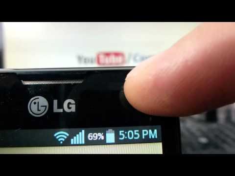 Camara de LG Optimus L4 comoconfigurar