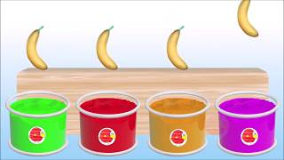 Learn Colors With Banana | Kids Learning Colors | Colors For Toddlers