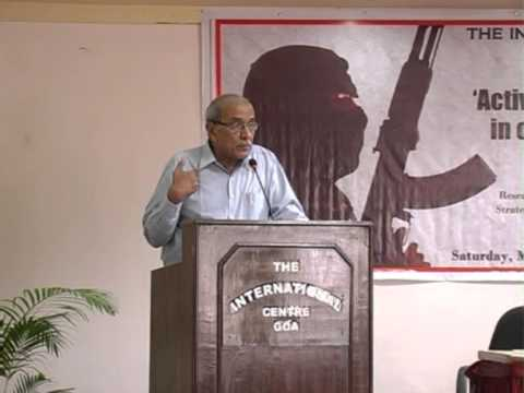 Lecture on 'Activities of Terrorist Groups in our Region & Beyond'
