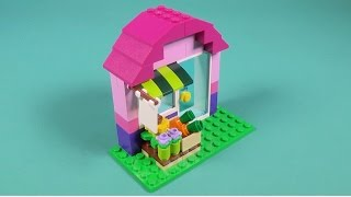 "Lego Flower Shop Building Instructions - Lego Classic 10692 ""How To"""