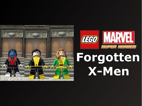 LEGO Marvel Super Heroes The Video Game The Forgotten X-Men Skin Pack Mod