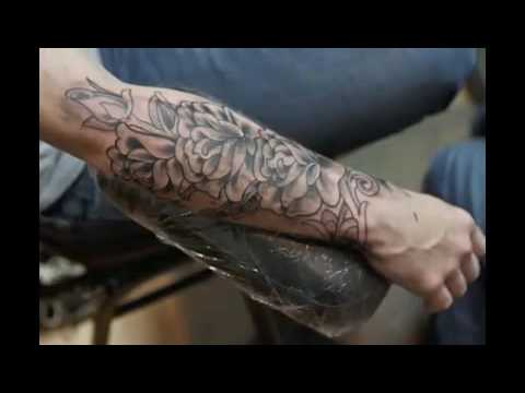Shannon's Time Lapse Rose Tattoo