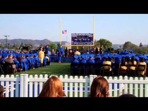2012 Charter Oak High School Graduation Pt.1