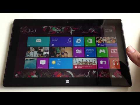 Microsoft Surface RT Tablet Review!
