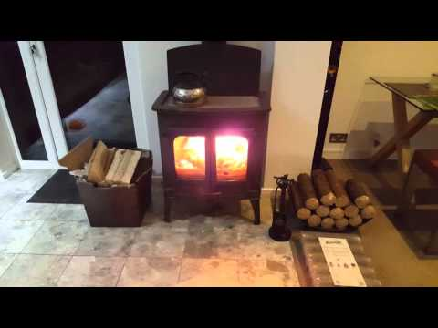 Best wood briquettes / Heat logs and my Charnwood island II wood burning stove