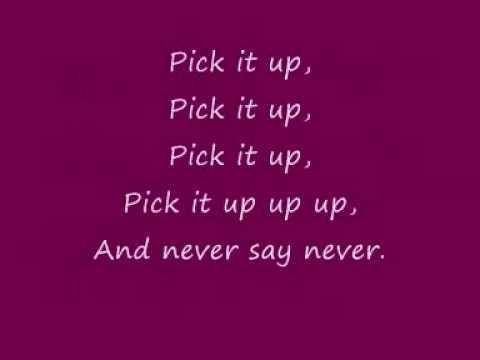 Letra De Never Say Never De Justin Bieber Y Jaden Smith! video