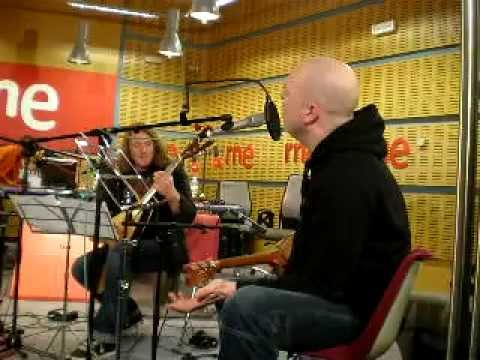 Michael Kiske, Kai Hansen (Unisonic) - Future World&Yesterday (Acoustic)(RNE, Madrid 21-02-2012)