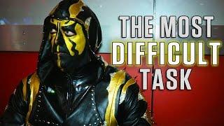 Follow Goldust as he prepares to battle Stardust at WWE Fastlane